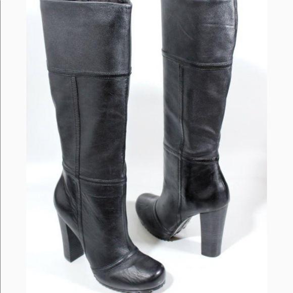 19e0c24ca5e9 luca stefani Shoes - Luca Stefani Leather Knee High Boots